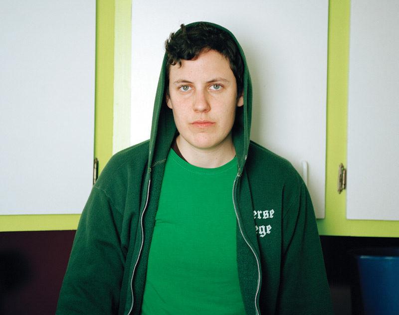 JJ Levine, Ej, 2006, de la série / from the series Queer Portraits, 2006-2010, épreuve chromogénique / c-prints, 76 x 102 cm ou 50 x 60 cm. © JJ Levine