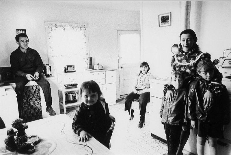 Pierre Gaudard, Chez Georges Langlois, Sept Isles, 1971 (tirage / print 1980), 28 x 35,6 cm. © Tous droits réservés