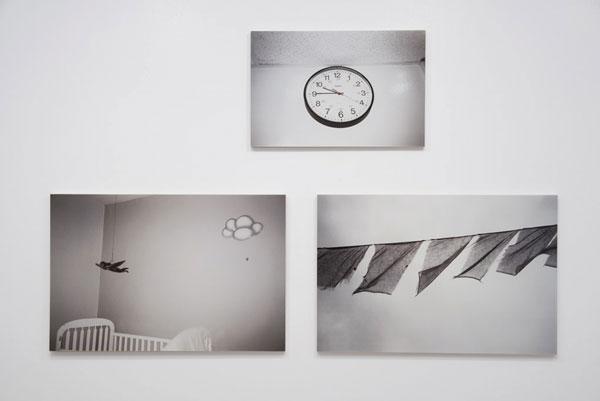 Corine Lemieux, en cours de route, 2010, vue d'exposition, Galerie Joyce Yahouda, Montréal. © Corine Lemieux