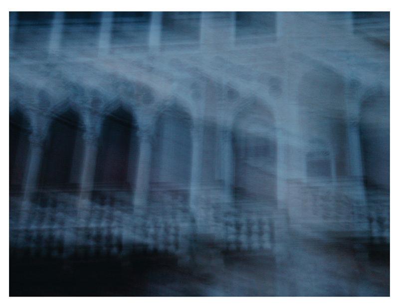 Ewa Monika Zebrowski, palazzo barbaro, 2010, impression jet d'encre / digital inkjet print, 61 x 76 cm. © Ewa Monika Zebrowski