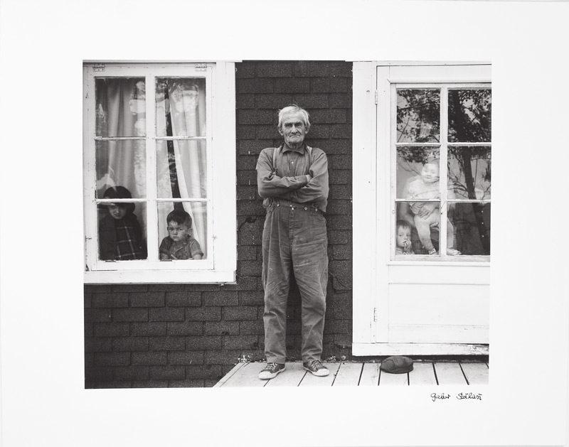Gabor Szilasi, Pascal Dufour, Île‑aux‑Coudres, 1970, épreuve argentique / gelatin silver print, 27,8 x 35,3 cm, Musée des beaux‑arts de Montréal / Montreal Museum of Fine Art. © Gabor Szilasi
