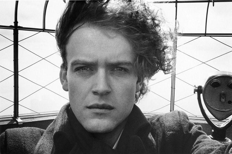 Hervé Guibert, Autoportrait, New York, 1981, épreuve argentique / gelatin silver print, permission de / courtesy of Maison européene de la photographie, © Christine Guibert