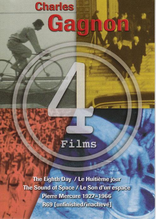 Charles Gagnon, 4 Films, Monika Kin Gagnon (dir.), coffret d'un DVD et livret de documentation, Montréal, Spectral Media, 2009