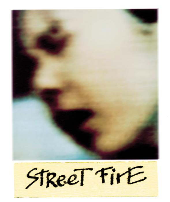 Serge Emmanuel Jongué, de la série / from the series Undressed Passion, 2000-2003, Street Fire, photographie Polaroïd + écriture / Polaroid photographs + writing, 28 x 22 cm . © Serge Emmanuel Jongué