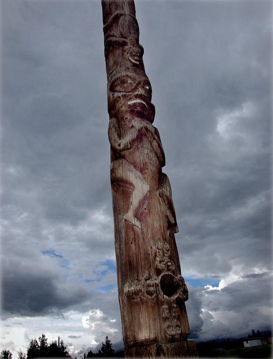 Serge Emmanuel Jongué, de la série / from the series Totem – A North American Celebration, 02, 2005, photographie numérique / digital photograph, 22 x 27 cm. © Serge Emmanuel Jongué