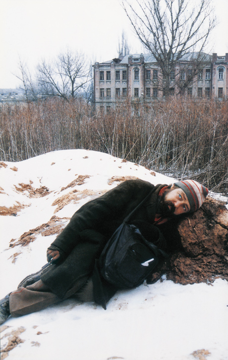 Boris Mikhailov, Case History series, 1997–98, A set of 400 photographs, variable dimensions, courtesy of the Saatchi Gallery, London. © Boris Mikhailov