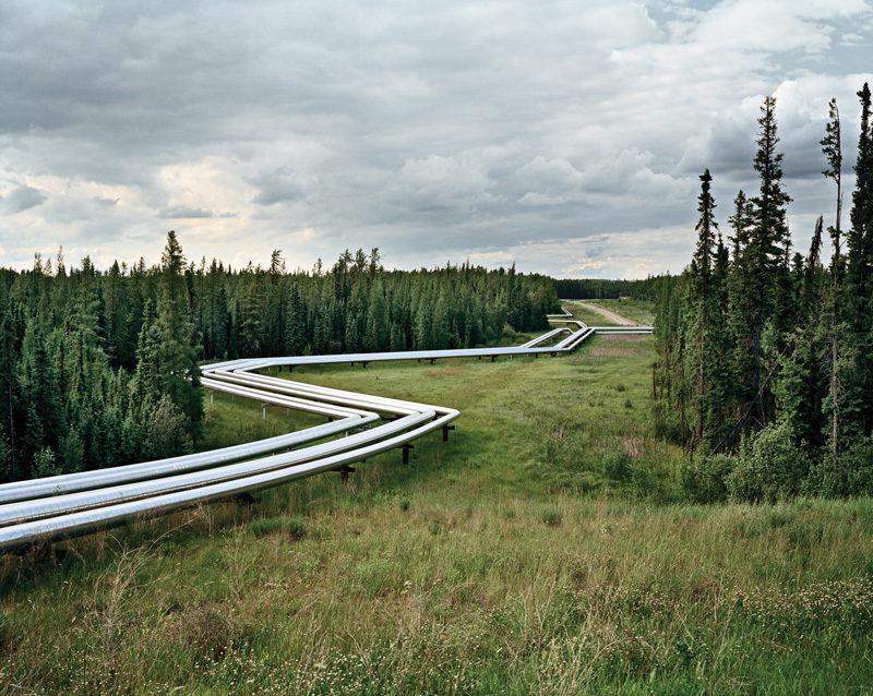 Edward Burtynsky, Oil Fields #22, Cold Lake, Alberta, Canada, 2001. © Edward Burtynsky