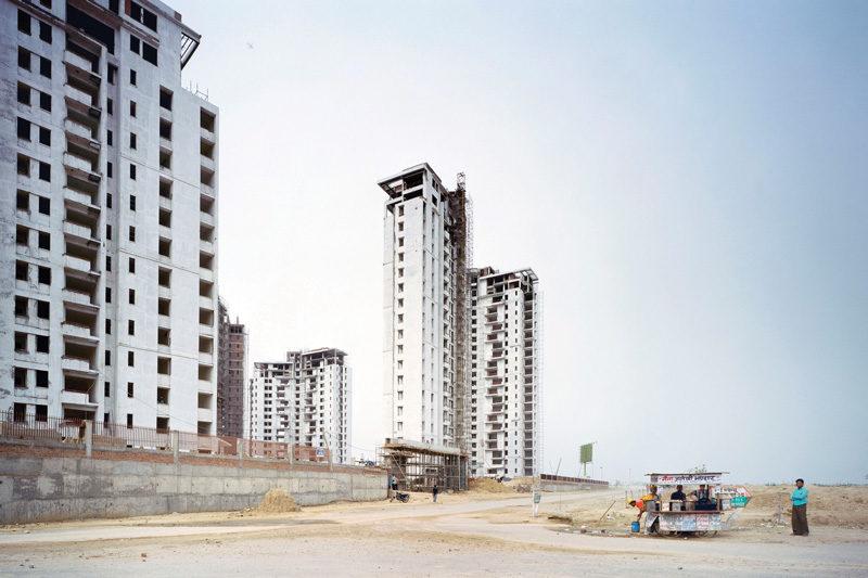 Patrick Tournebœuf, Next City, Inde, 2008 . © Patrick Tourneboeuf