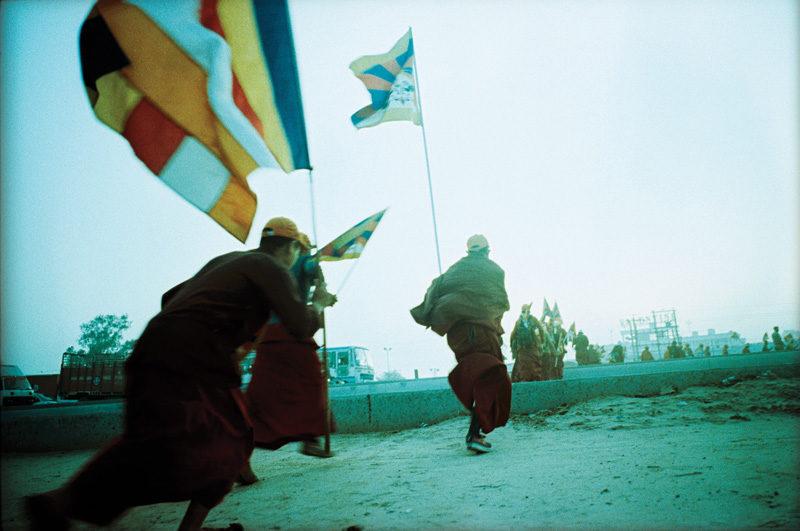 Flore-Aël Surun, Return march to Tibet, Inde, 2008. © Flore-Aël Surun