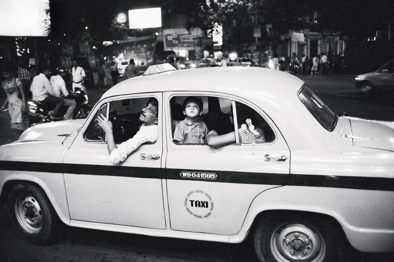 Pascal Aimar, telegraph, Calcutta, Inde, 2008. © Pascal Aimar