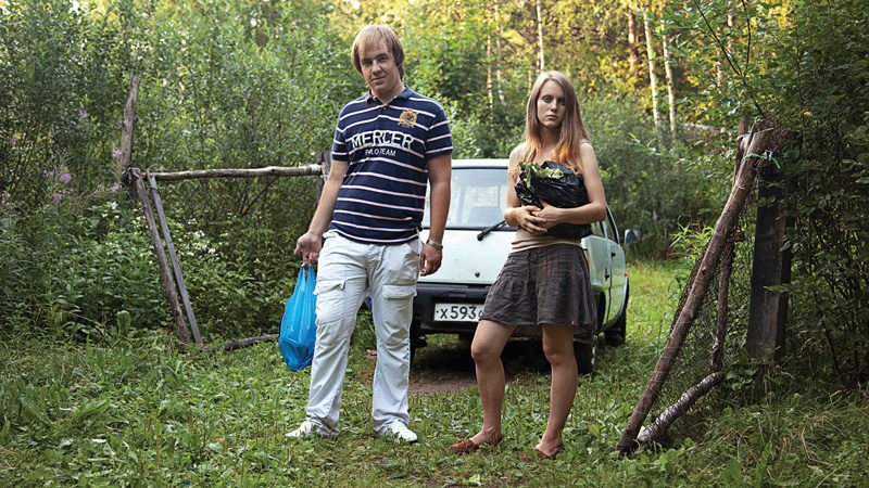 Adad Hannah, Couple Returning from the Supermarket, 2011, extrait video hd, 5 min 16 s. © Adad Hannah