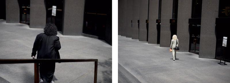 Paul Graham, de la série / from the series The Present, 2012, vue de l'installation / installation view, impressions jet d'encre / pigment prints, permission de / courtesy of The Pace Gallery and MacGill Gallery. © Paul Graham