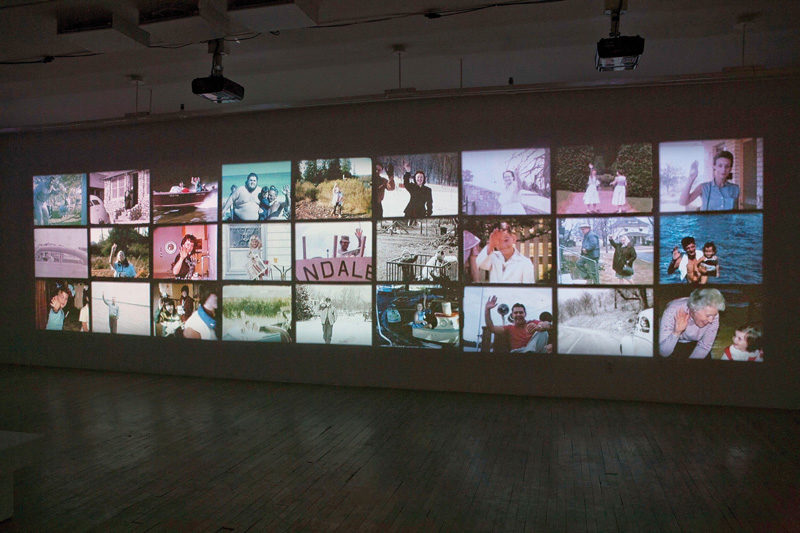 Jeremy Borsos, Been Poll, 2010, installation vidéo composée de 3 projections, 5 min 37 s, permission de Ronald S. Diamond. © Jeremy Borsos
