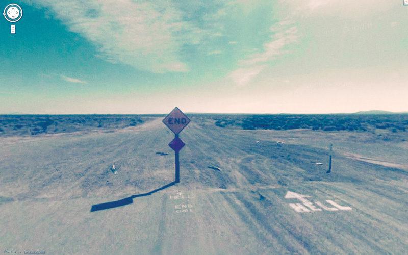 Jon Rafman, 2011, Altus Avenue, Mojave, California, USA, impression jet d'encre. © Jon Rafman