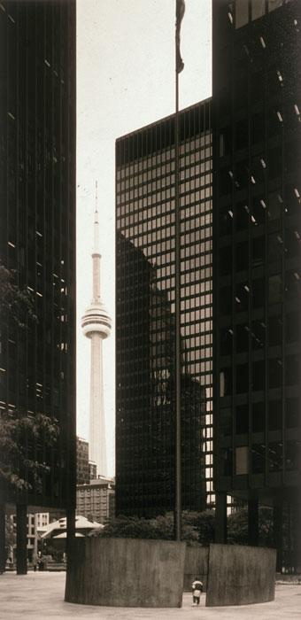 Volker Seding, CN Tower, Toronto, 2000, © Estate of Volker Seding, courtesy of Stephen Bulger Gallery