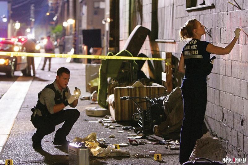 Série télévisée / TV series Les Experts / CSI (Crime Scene Investigation) – Las Vegas, épisode 10.06 : Death & the Maiden, 2009, photo : Sonja Flemming / CBS. © CBS Broadcasting Inc.