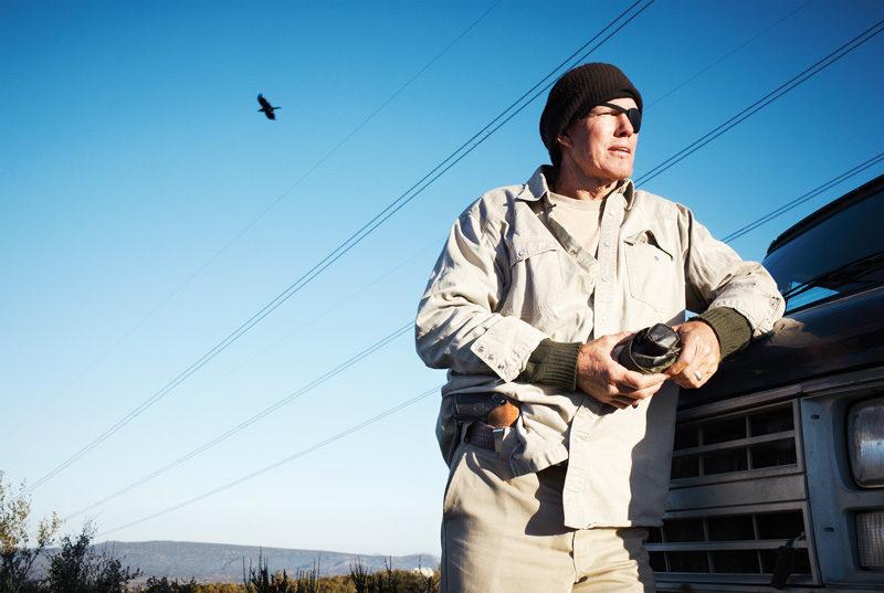 Martin Beaulieu, Minuteman 1, 2009, Campo, Californie. © Martin Beaulieu