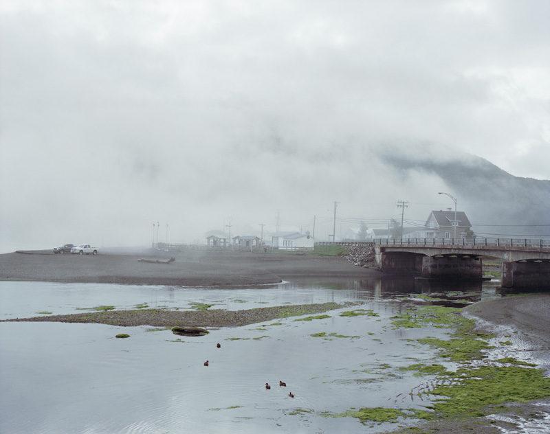 Beatrix von Conta, Matapédia, 2011, projet de résidence Le Grand Ecart 2011-2012 (un regard sur l'évolution du paysage de la Gaspésie contemporaine). © Beatrix von Conta