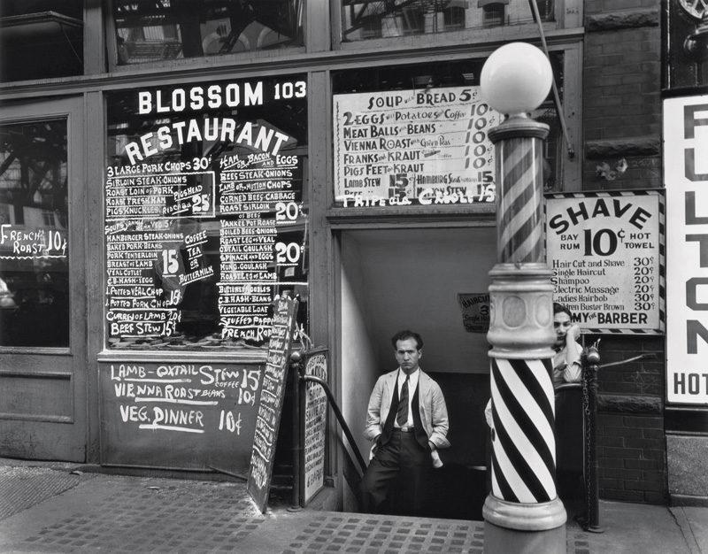 Berenice Abbott, Blossom Restaurant, 1935 © Berenice Abbott / Commerce Graphics