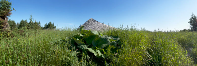 Richard Baillargeon, Anticoste, 2012, panoramique 3 (Fox Bay), impression jet d'encre / inkjet print, 228 x 76 cm. © Richard Baillargeon