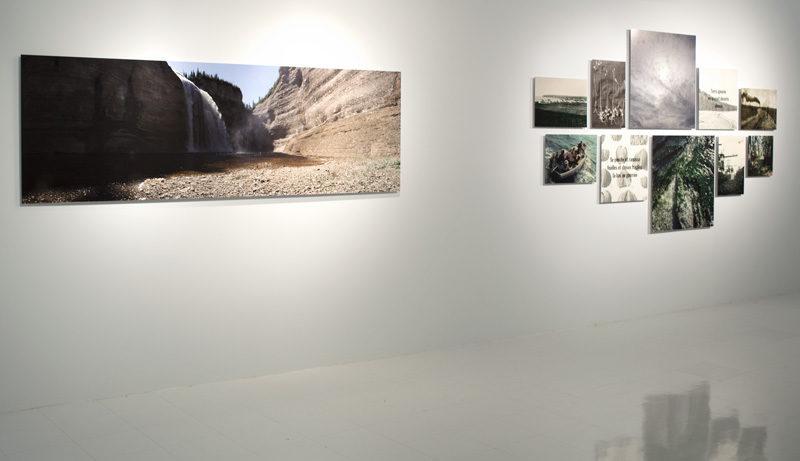 Richard Baillargeon, Anticoste, 2012, vues de l'exposition / exhibition views, Galerie des arts visuels, Université Laval, Québec, photos: Renée Méthot. © Tous droits réservés