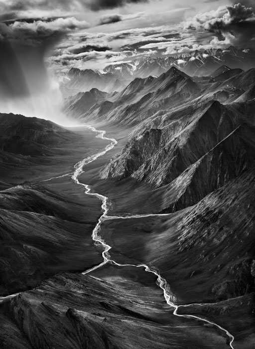 Sebastião Salgado, The Arctic National Wildlife Refuge, Alaska, USA, from the series Genesis, 2009, courtesy of the artist, Amazonas images. © Sebastião Salgado