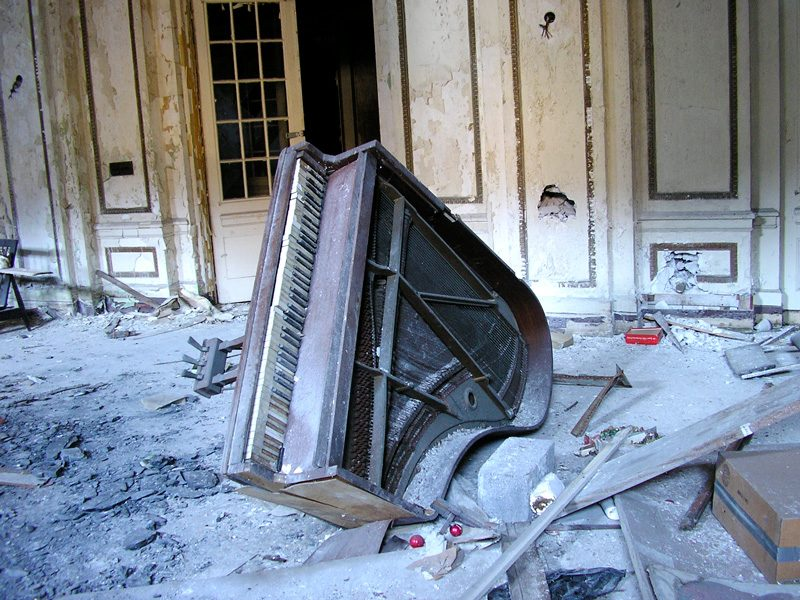 Sean Doerr, Lee Plaza Piano, 2005, Flickr, permission de / courtesy of the artist