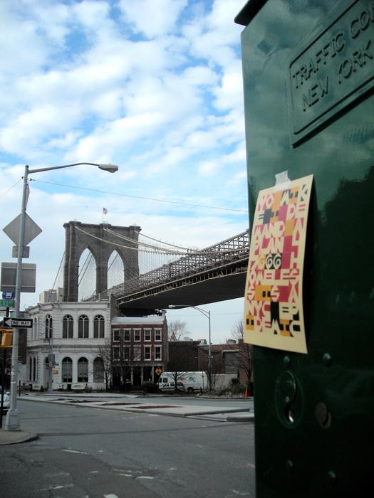 Karen Elaine Spencer, Postcard posted, 2013, New York, document photographique / photographic document. © Karen Elaine Spencer