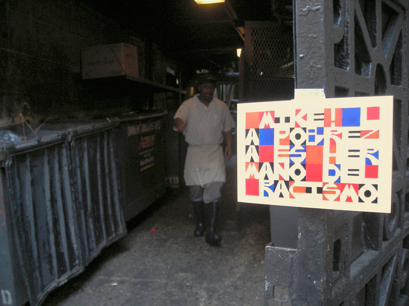 Karen Elaine Spencer, Postcards posted, 2013, New York, document photographique / photographic document; page 50 : blog as studio artist as circulator, 2012, encre sur papier / ink on paper, 18 x 13 cm. © Karen Elaine Spencer