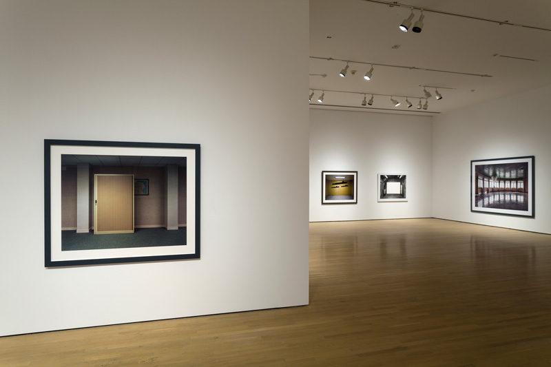 Faux indices: Lynne Cohen, 2013, exhibition view / vue de l'exposition, Musée d'art contemporain de Montréal, courtesy of / permission de la Médiathèque du Musée d'art contemporain de Montréal, photo: Guy L'Heureux