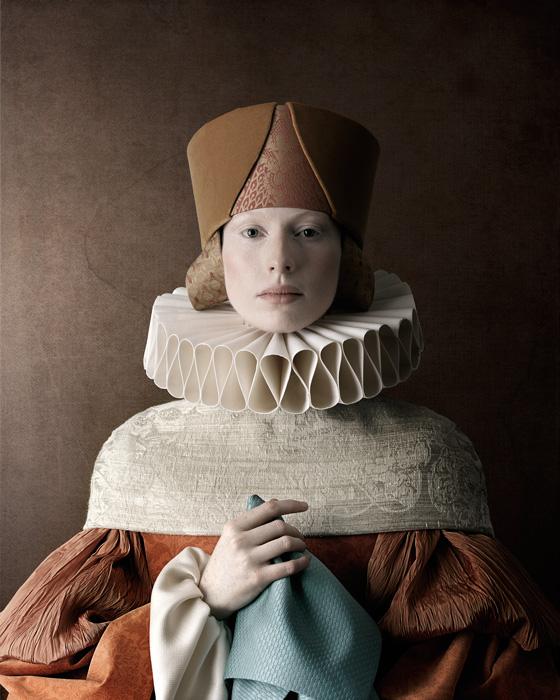 Christian Tagliavini, Cecilia, 2010, de la série / from the series, 1503, impression numérique / digital print, 160 x 128 cm
