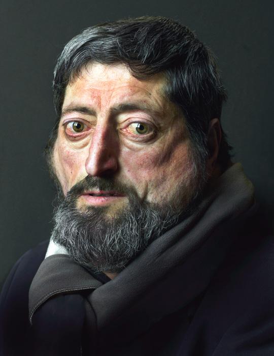 Pierre Gonnord, Senen, 2009, de la série / from the series Terre de personne