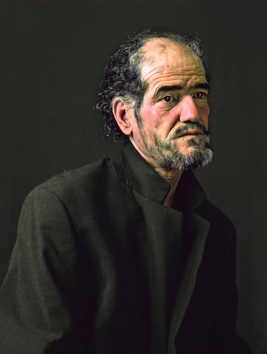 Pierre Gonnord, Ahmed, 2005, de la série / from the series Utópicos, épreuve chromogénique / c-print, 166 x 125 cm