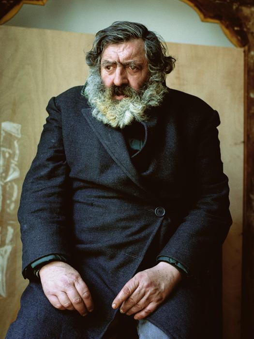 Pierre Gonnord, Antonio, 2004, de la série / from the series Utópicos, épreuve chromogénique / c-print, 166 x 125 cm