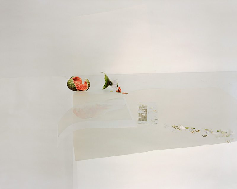 Laura Letinsky, Untitled #31, 2011, from the series Ill Form & Void Full, inkjet print, courtesy of yancey richardson Gallery