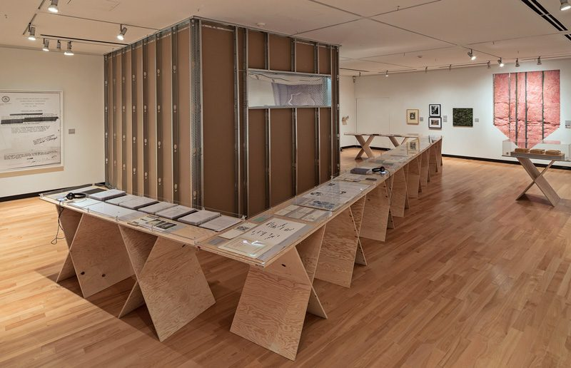 CounterIntelligence, 2014, view of the exhibition, courtesy of the Justina M. Barnicke Gallery, photo: Toni Hafkenscheid