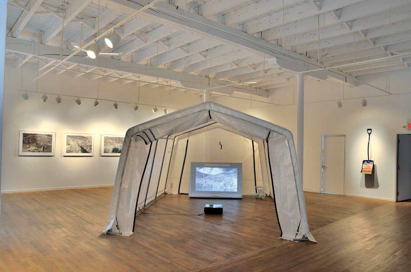 Louis Couturier et Jacky Georges Lafargue, Asbestos Storm, 2014, impression jet d'encre, 81 cm x 107 cm