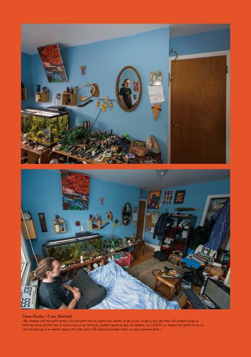 Caroline Hayeur, ADOLAND (Simon-Nicolas, 19 ans), 2014, impression numérique, 86 x 60 cm