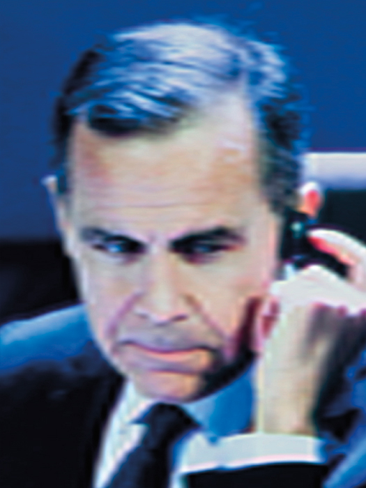 Daniel Mayrit, #1 Mark Carney, Governor, Bank of England