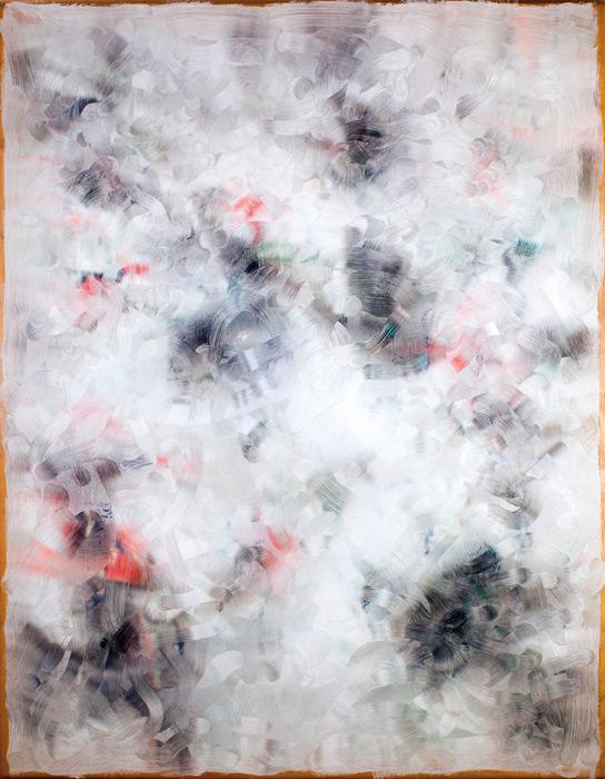 Gwenaël Bélanger, Dépeindre (Paul-Émile Borduas, Tropique, 1955), 2013, impression jet d'encre, 97 x 75 cm
