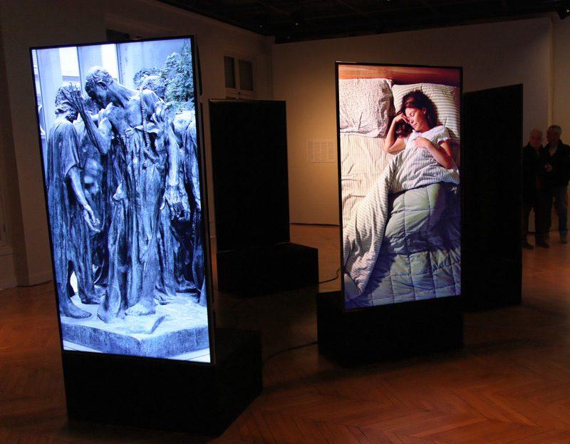 Denys Arcand & Adad Hannah, Les Bourgeois de Vancouver, 2015. Vue de l'installation / installation view, Centre culturel canadien, Paris, 2015.