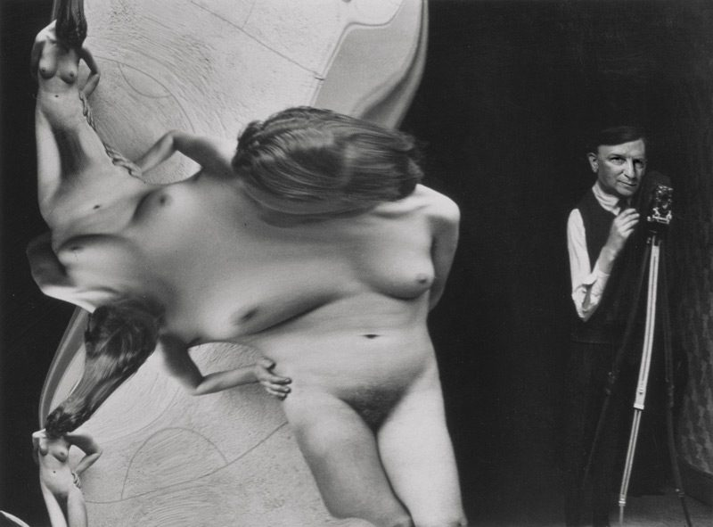Chuck Samuels, After Kertész from the series / de la série The Photographer, 2015, inkjet print on archival paper / impression jet d'encre sur papier archive 17 × 13 cm