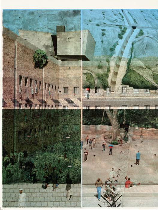 Adam Broomberg et Oliver Chanarin, from the series / de la série Scarti, 2013, twice-printed lithographic paper / deux impressions sur papier lithographique, 25 × 19 cm