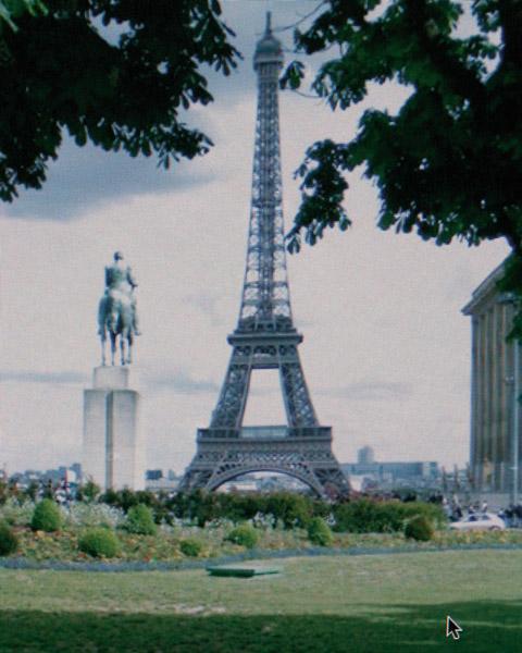 Michael Wolf, de la série / from the series Eiffel Tower Street View, 2010 impressions pigmentaires / pigment prints