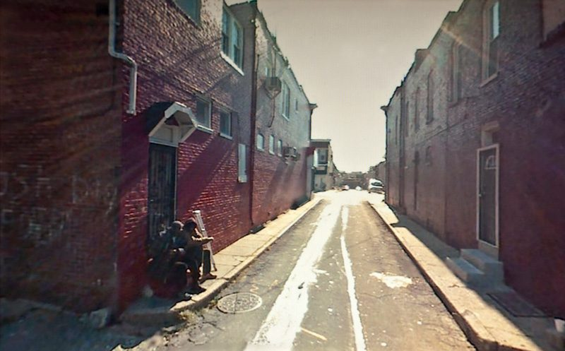 Doug Rickard, #39.259736, Baltimore, MD (2008), 2011, 2010, de la série / from the series A New American Picture, impressions pigmentaires archive / archival pigment prints, permission de / courtesy of Yossi Milo Gallery, New York