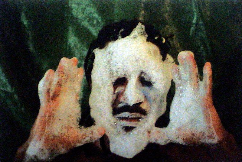 Hervé Yamguen Autoportrait, vers / circa 2002, épreuve argentique / gelatin silver print