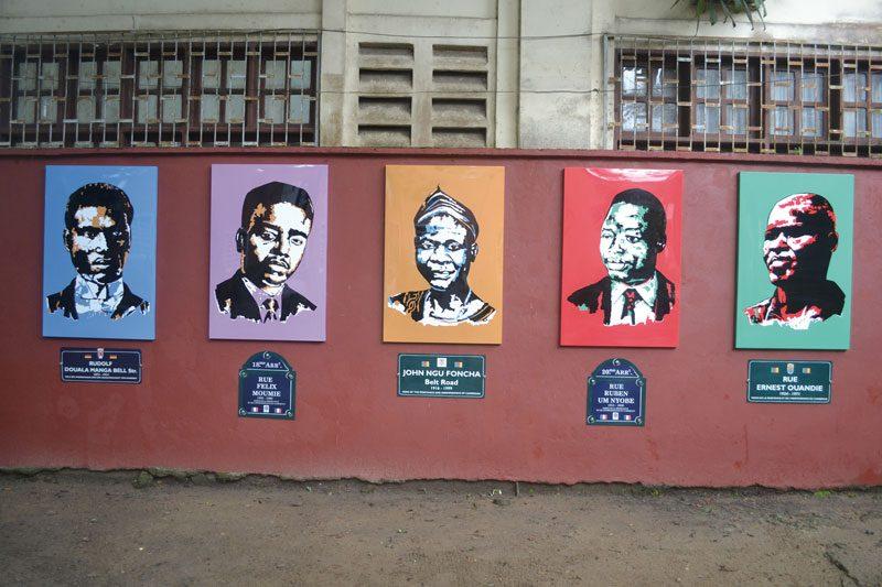 Hervé Youmbi, Cameroonian Heroes, Espace Doual'art, SUD Salon Urbain de Douala 2013