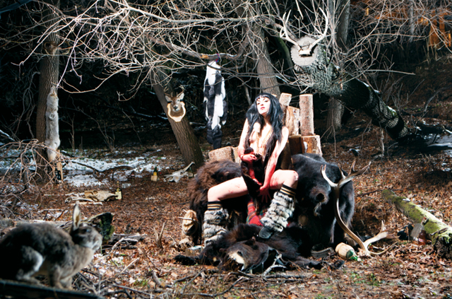Dayna Danger, Goldilocks, 2011, impression numérique, 112 × 168 cm. © Tous droits réservés