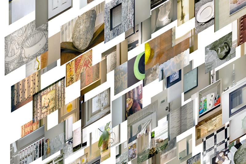 Alain Paiement, Détails obliques, 2012, jet d'encre sur papier Hahnemühle, 100 x 72 cm, photo : Rag Baryta