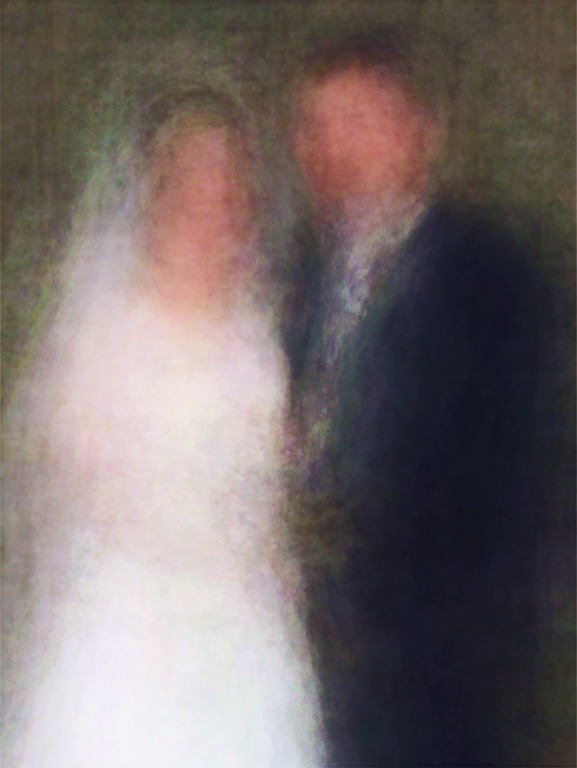 Jason Salavon, The Graduate (from100 Special Moments), 2004, digital colour prints, variable dimensions. © Jason Salavon
